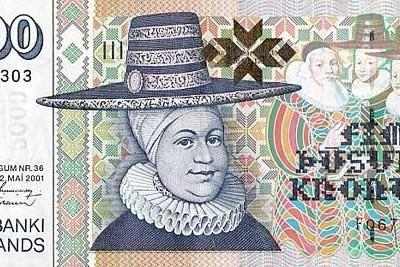 Icelandic currency: Króna kr, ISK.
