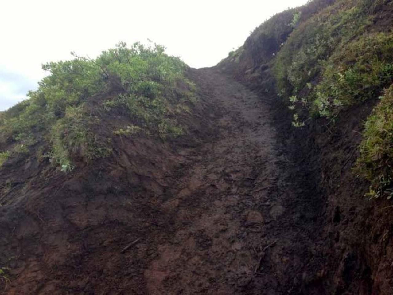 Emstrur trail in Iceland after the restoration work has complet
